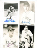 Bob Feller Cleveland Indians signed postcard size photo