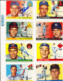Roy Sievers Nationals #16  Signed 1955 Topps Card