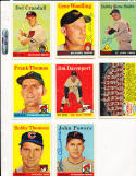 1958 Topps 430 bobby Thomson Chicago Cubs card d.10
