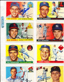 Billy Gardner new York Giants 27 1955 Topps Signed