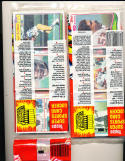 2 1982 unopen grocery rack packs