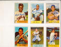 1954 Bowman signed 55 Jim Delsing tigers