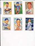 1952 Bowman signed 184 Curt Simmons Philadelphia Phillies