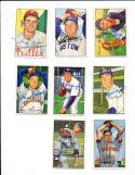 1952 Bowman signed 79 Lou Brissie Cleveland Indians