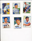 1951 Bowman signed 249 Johnny Groth detroit tigers