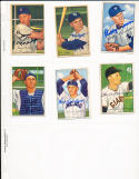 1952 Bowman signed  240 Matt Batts 216 detroit tigers