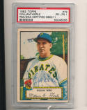 1952 topps #73 William Werle Pittsburgh Pirates signed  psa/dna