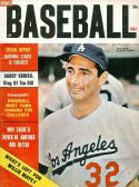 1964 Baseball Complete Sports  Sandy Koufax Dodgers nm