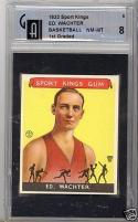 1933 Sports Kings Ed Wachter Basketball gai 8 mt