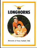 1968 University of Texas Football yearbook near mint