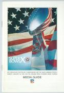 superbowl X 10 Steelers Cowboys  Football Guide nm - ft pro guide