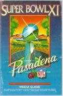 superbowl XI 11 Vikings Raiders  Football Guide em - ft pro guide
