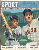 1947 August Sport magazine Ted Williams Red Sox