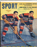 1947 February Sport magazine Bentley Brothers Black Hawks