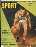 1947 January Sport magazine Andy Phillips Illinois basketball