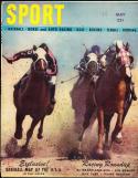 1947 May Sport magazine horseracing em
