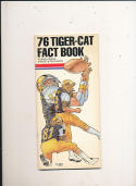 1976 Hamilton Tigers CFL Football Media Guide