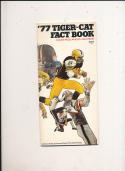 1977 Hamilton Tigers CFL Football Media Guide