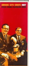 1967 Kansas City Chiefs AFL Press Media Guide em