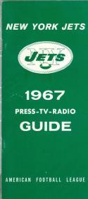 1967 New York Jets AFL Press Media Guide em