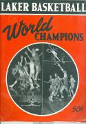 lakers 1950 basketball yearbook nrmt