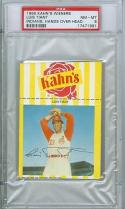 1969 Kahns Luis Tiant psa 8 Indians