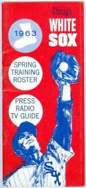 1963 Chicago White Sox Press Guide em