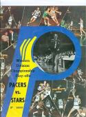 1971 Western Division ABA Championship Pacers Program
