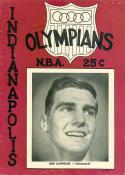 1952 Indianpolis Olympians signed Program