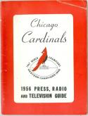 Chicago Cardinals 1956  press media guide ex-em (creased)
