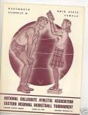 1944 NCAA Eastern Championship program ohio state