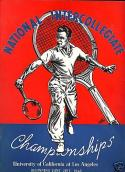 1948 NCAA Championship Tennis Lawn Program