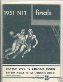 1951 NIT finals basketball championship Seton Hall BYU