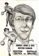John Havlicek Boston Celtic Day Program 1978