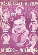 1948 Texas  Arizona Basketball Program Morris Udall