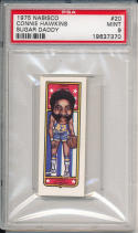1975 Nabisco Connie Hawkins Sugar daddy #20 psa 9