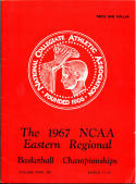 1967 NCAA Eastern Regional Basketball Championships Program