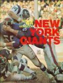 Ten 1971 New York Giants Yearbooks
