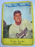 Duke Snider 1955 stahl Mayer signed dodgers