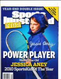 Jessica Aney Signed 12 2010 sports Illustrated for Kids cover