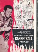 1957 University of Utah  Basketball Press Media Guide