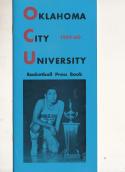 1959 Oklahoma City University Basketball Press Media Guide