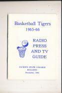 1965 Jackson State College Basketball Press Media Guide Ed Manning