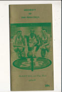 1965 University of San Francisco College Basketball Press Media Guide