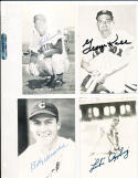 Billy Herman Cubs real photo signed Post Card