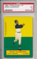 1964 topps stand-up Donn Clendenon Pirates  psa 5