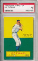 1964 topps stand-up Lee Thomas Angels  psa 7 NM