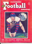 Illustrated Football Annual 1948 Chuck Bednark Penn yearbook publication ex