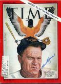 17 - September 11, 1964 Signed Time - Baltimore Manager Hank Bauer