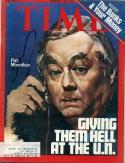 22 - Jan 26, 1976 Signed Time - Pat Moynihan